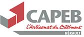 Logo CAPEB Hérault