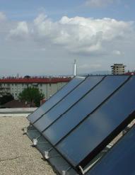 panneau solaire thermique - ALE Lyon