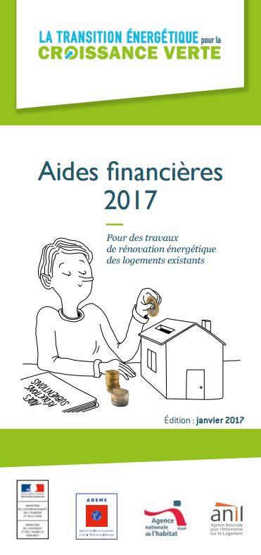 Plaquette aides financières 2017