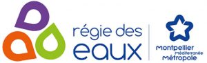 Logo régi des eaux Montpellier 3M