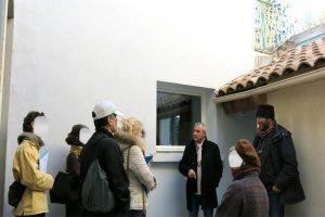 Visite de site rénovation globale à montpellier